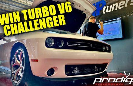 Twin Turbo V6 Dodge Challenger On The Dyno! For Lukeville 85341 AZ