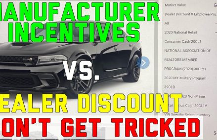 Dealership Discounts vs. Manufacturer Incentives – Power Dollars, Bonus Cash, Employee Pricing, APR in Los Angeles 90036 CA
