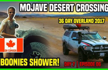 OVERLAND ADVENTURE 36 DAYS ||  Crossing Mojave desert | road shower | heat issues | part 1 | Day 7 Around Streets in 92136 San Diego CA