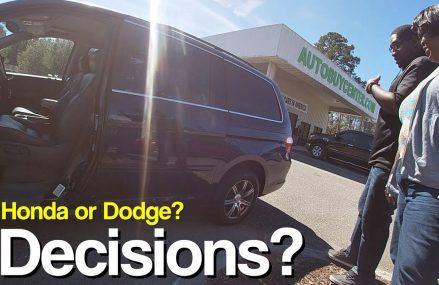 The Decision is Simple! ( Honda Odyssey VS Dodge Grand Caravan ) Near Mongo 46771 IN