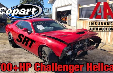 I Bought a Wrecked Dodge Challenger Hellcat At Salvage Auction & I'm Going To Rebuild It in Lupton City 37351 TN