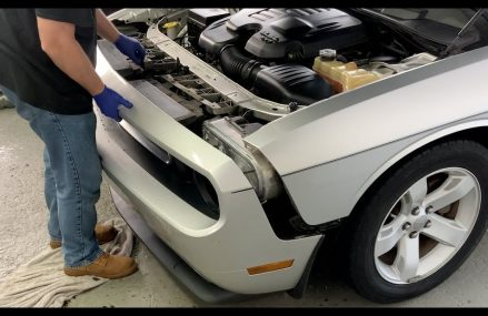How To Remove / Install Front Bumper On A 2008-2014 Dodge Challenger at Louisville 40291 KY