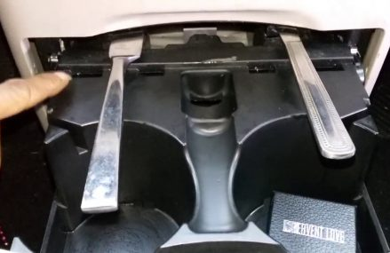 How To Remove The Cupholder In A 2014 Dodge Grand Caravan Near New Auburn 55366 MN