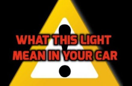 What does the yellow triangle light on my car mean? in Morton Grove 60053 IL