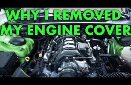 Why I removed my plastic engine cover. Challenger R/T 5.7 HEMI at Mc Callsburg 50154 IA